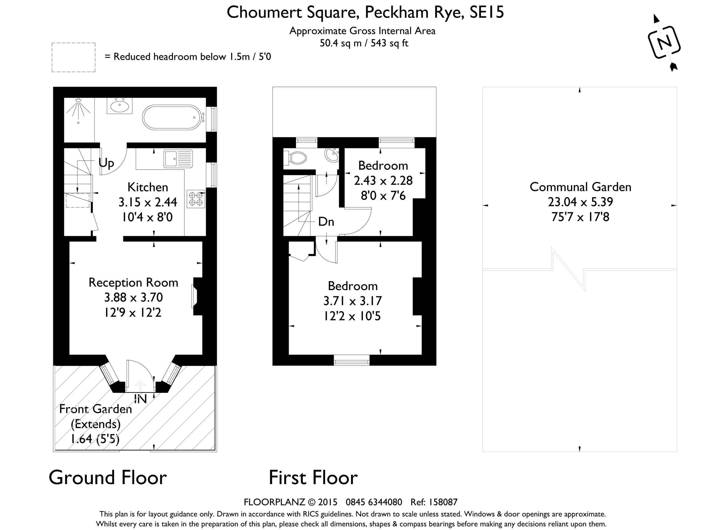 2 bedroom property for sale in choumert square  peckham