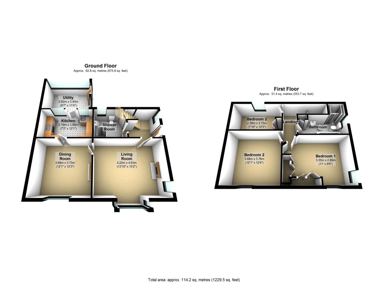 3 Bedroom Property For Sale In Chapel Lane Dunston