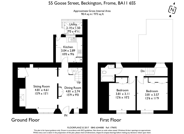2 Bedroom Property For Sale In Goose Street Beckington