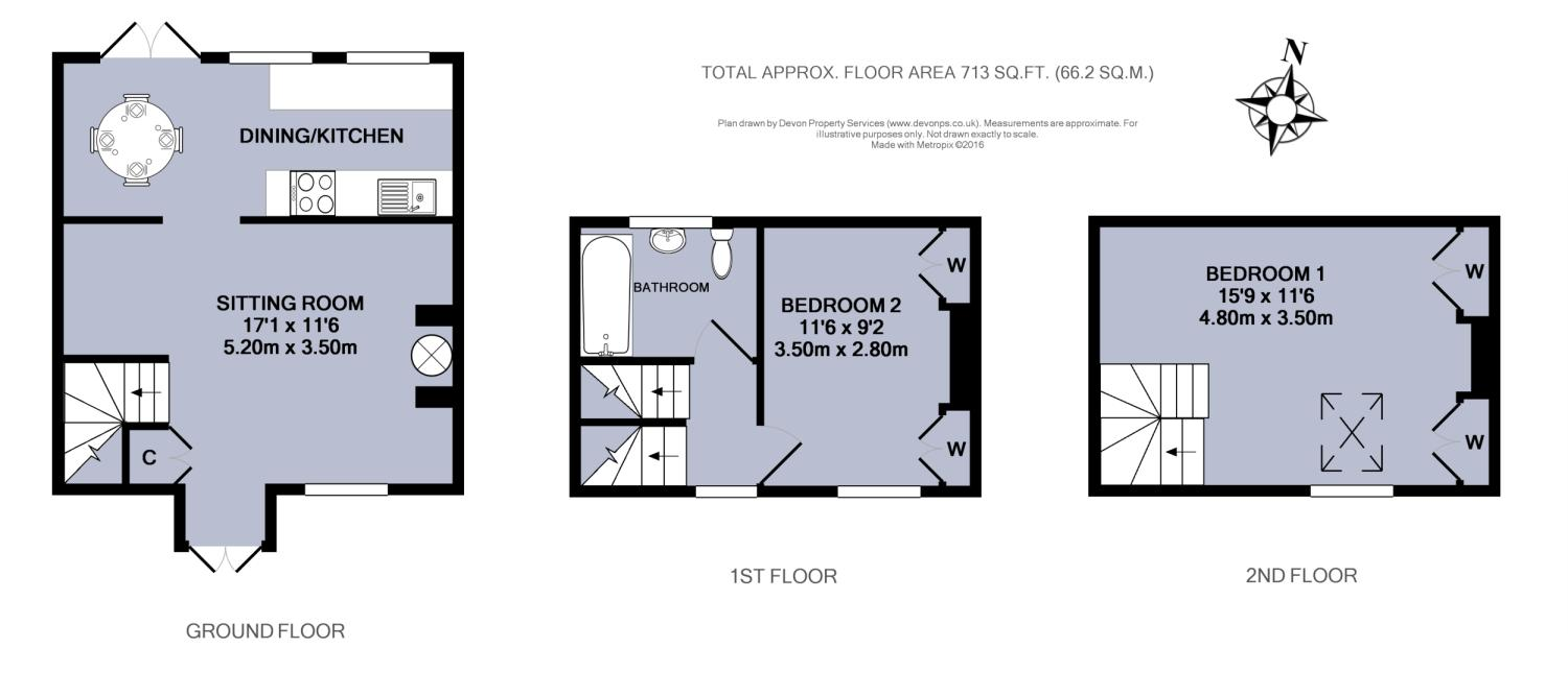 2 bedroom property for sale in st martins lane for Marshfield homes floor plans