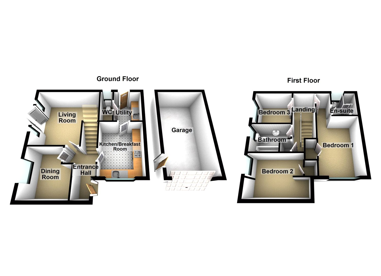 3 Bedroom Property For Sale In Ely Close Bracebridge