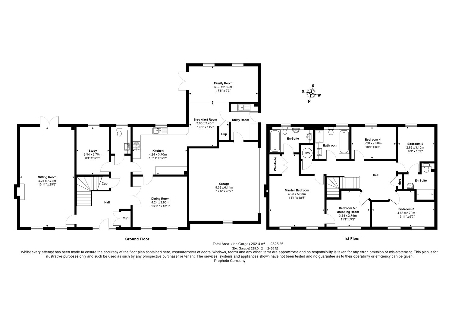 Floorplans for Ardgowan, 7 Bowmont Court, Sunlaws, TD5