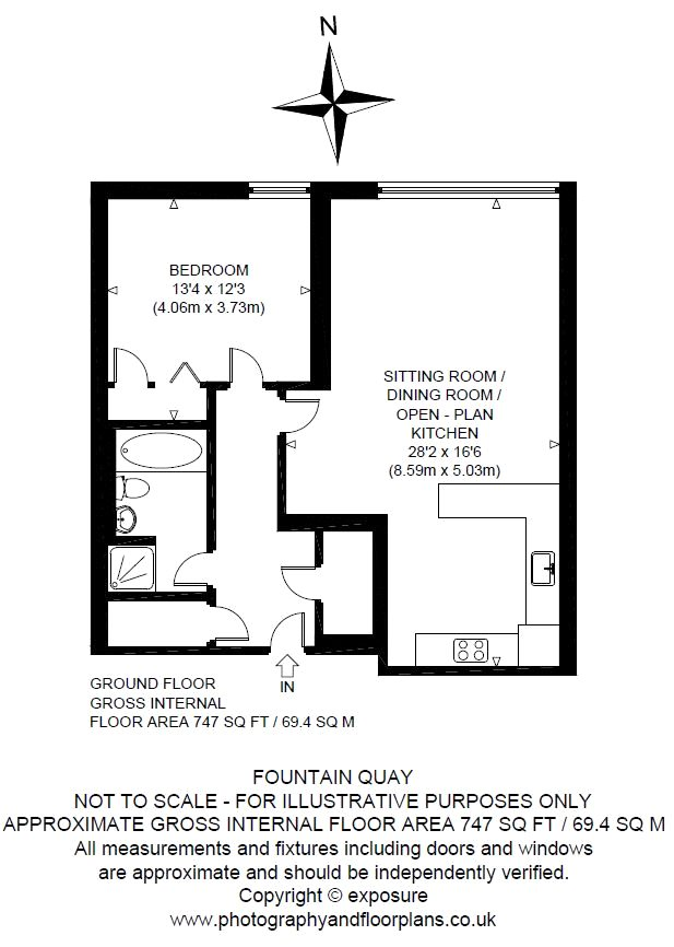 Floorplans for 2/4 Lower Gilmore Bank, Lochrin Basin, Edinburgh, EH3