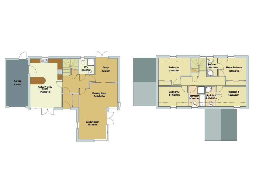 Floorplans for Plot 10, The Torridon, Coatburn Green