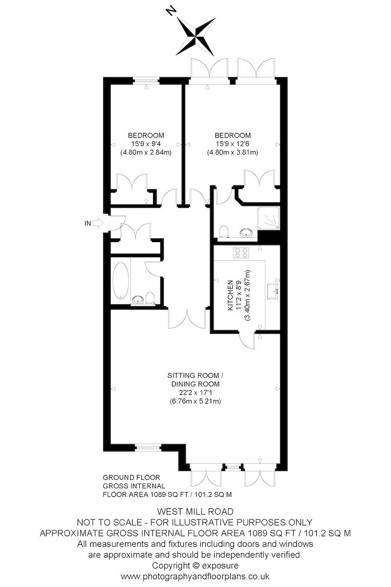 Floorplans for West Mill Road, Edinburgh, Midlothian, EH13