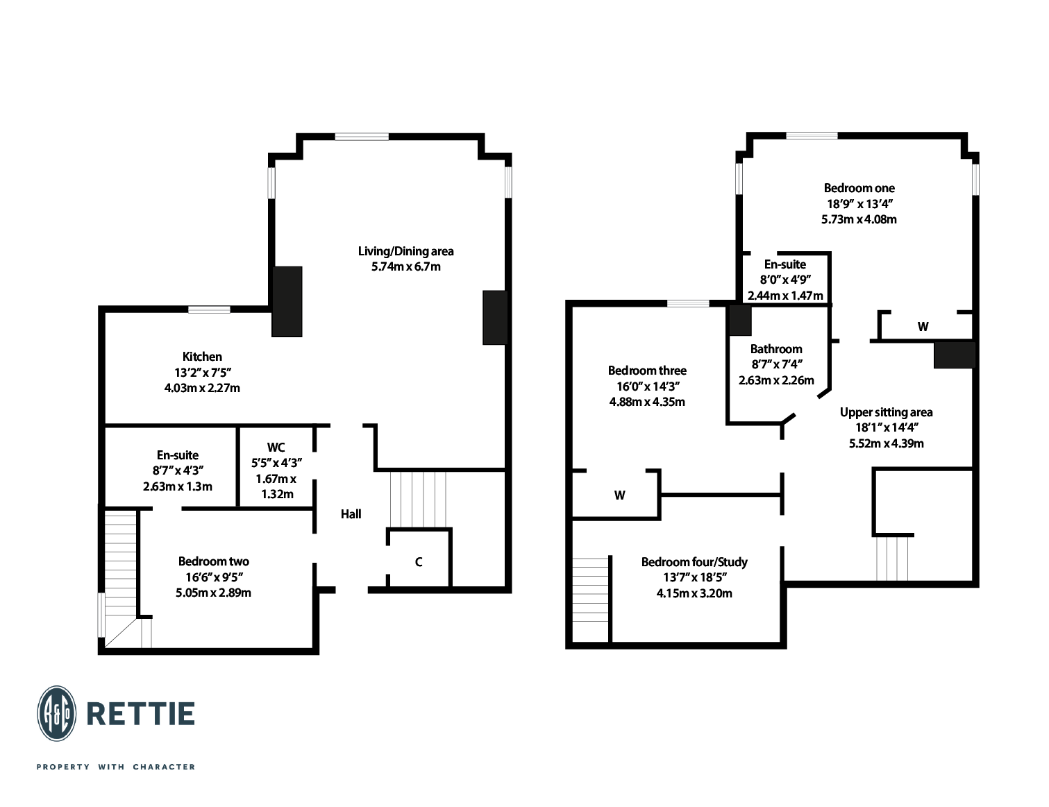 Floorplans for Lilybank Terrace, Hillhead, Glasgow, G12