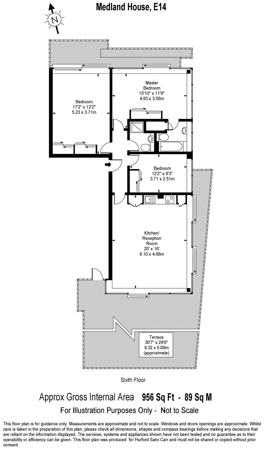 Medland House, 11 Branch Road, Limehouse, E14 floorplan