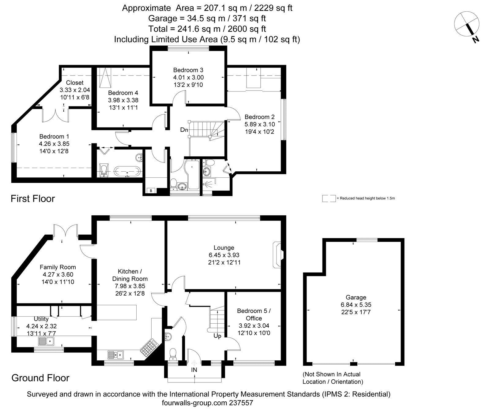 Floorplans for Kenmore Gardens, Bearsden, Glasgow, G61