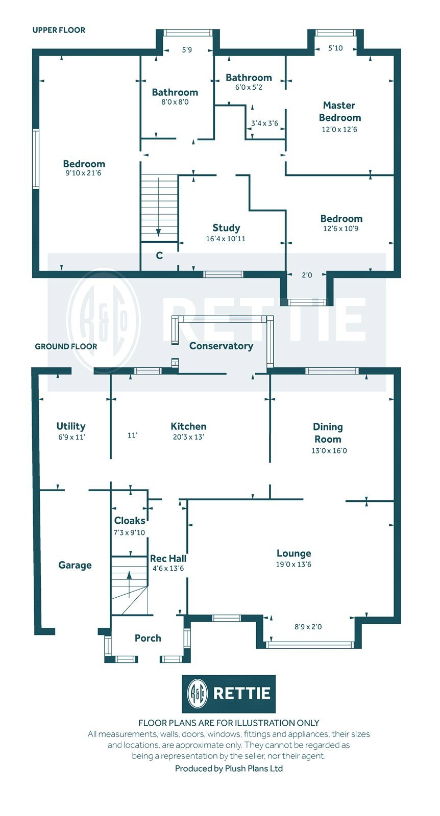 Floorplans for Philipshill Grove, Philipshill Road, Philipshill, G76