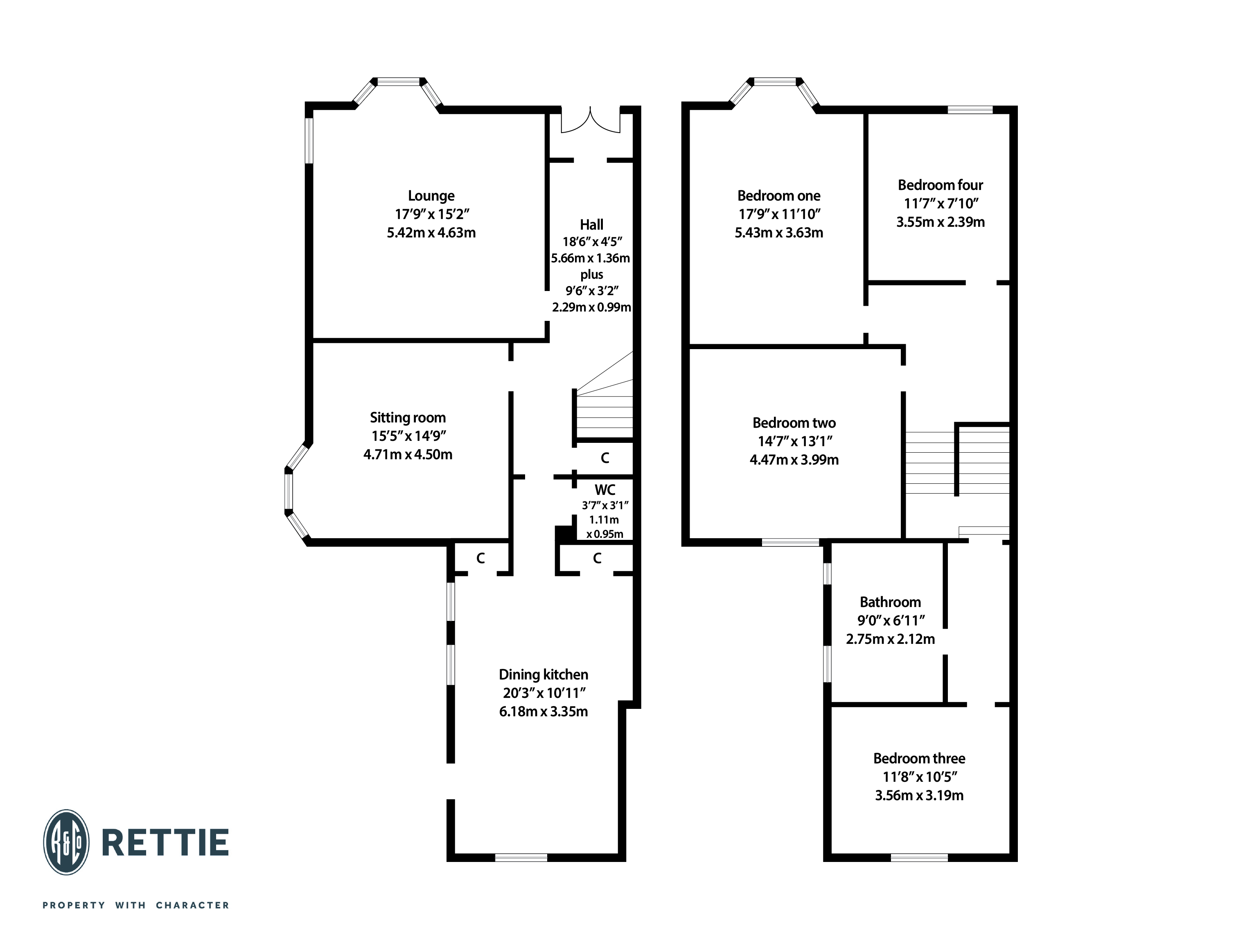 Floorplans for Norse Road, Scotstoun, Glasgow, G14