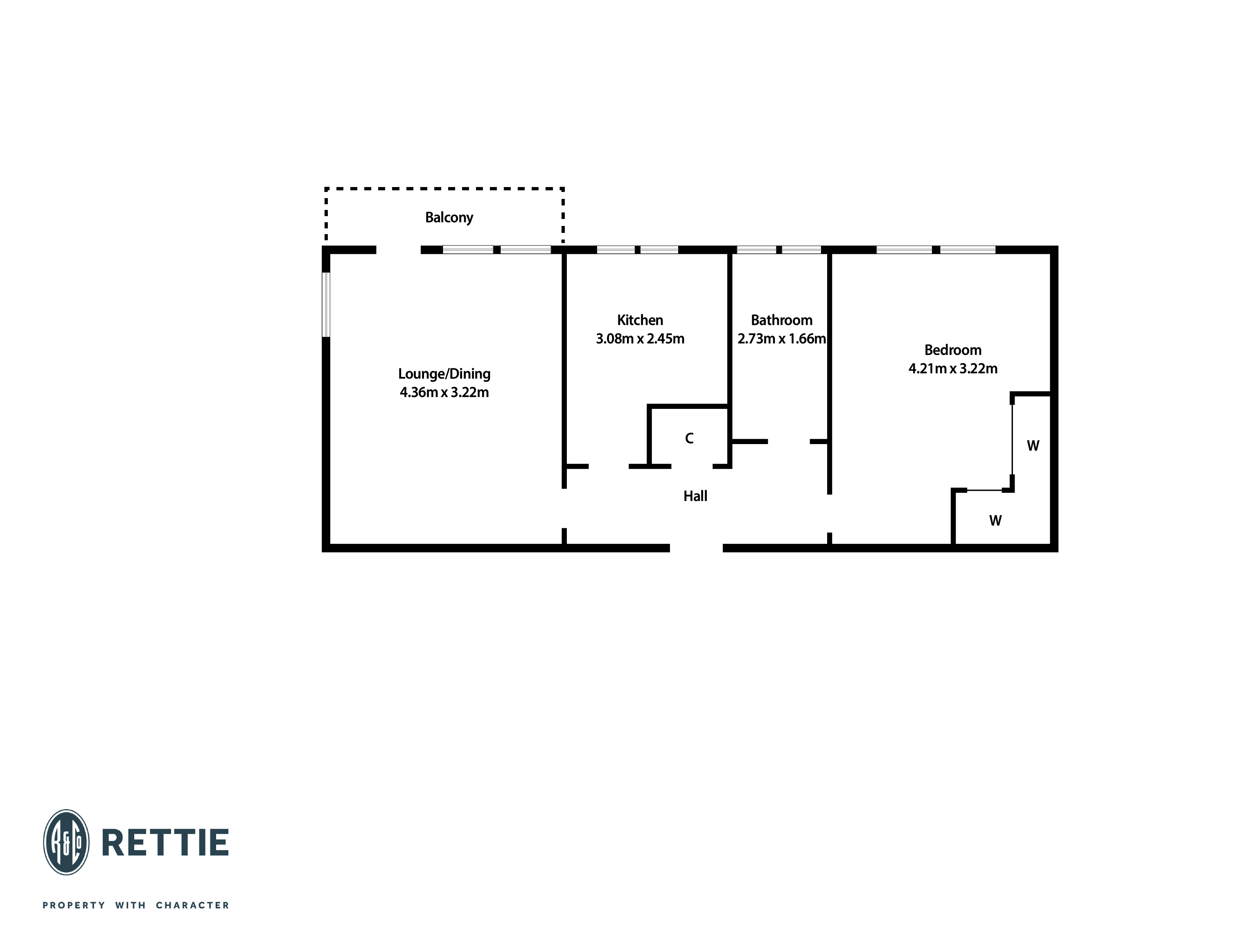 Floorplans for Great Western Road, Kelvindale, Glasgow, G12