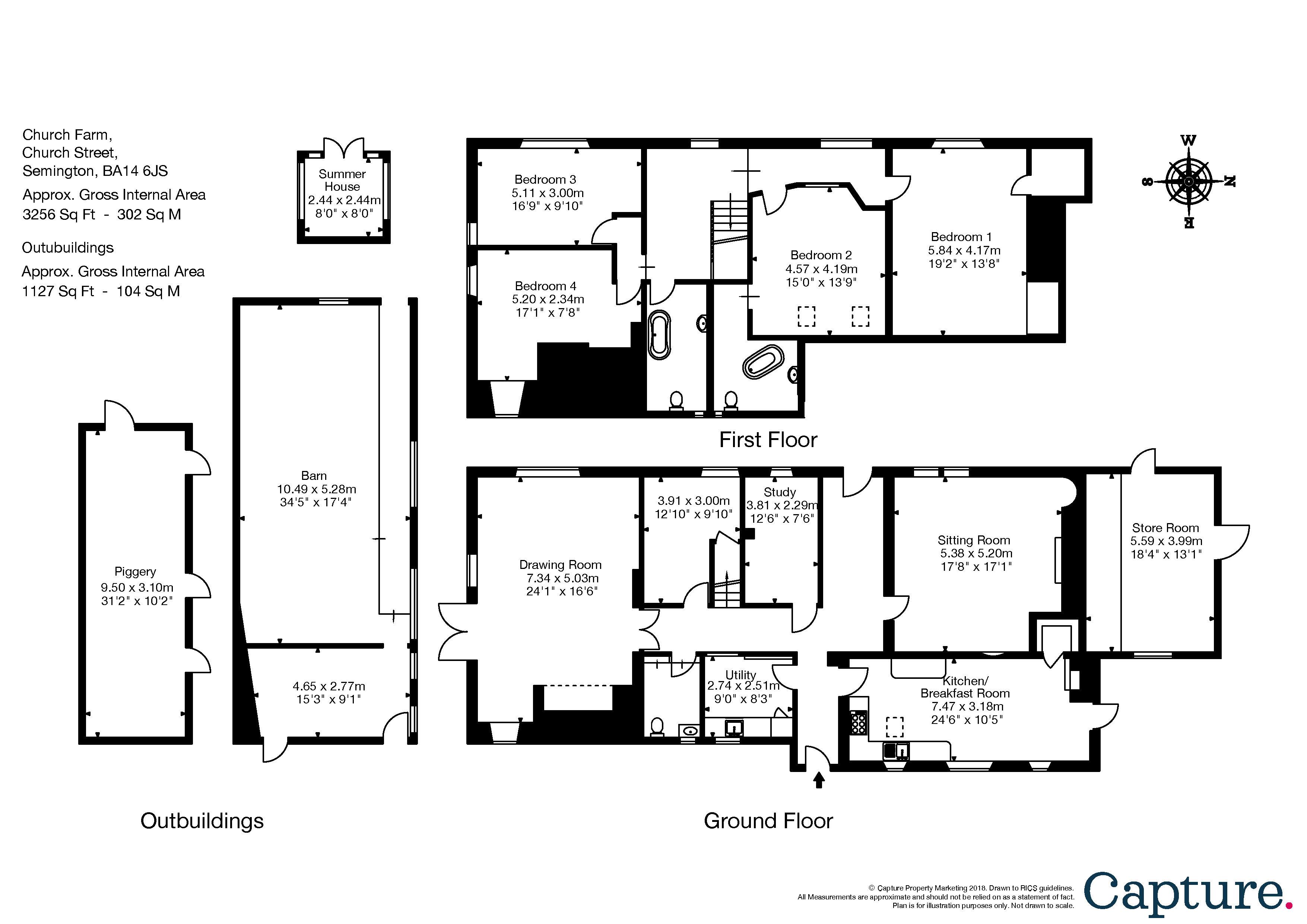 4 Bedroom Property For Sale In Church Street Semington