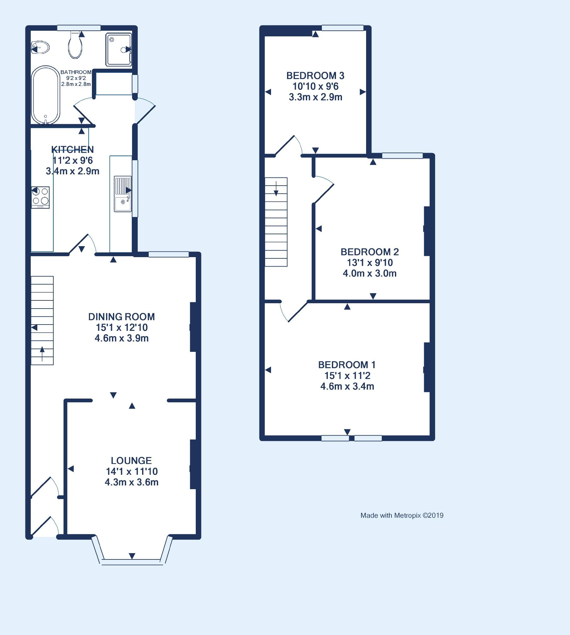 For Sale: 3 Bedroom Terrace, £345,000, Chessel Street
