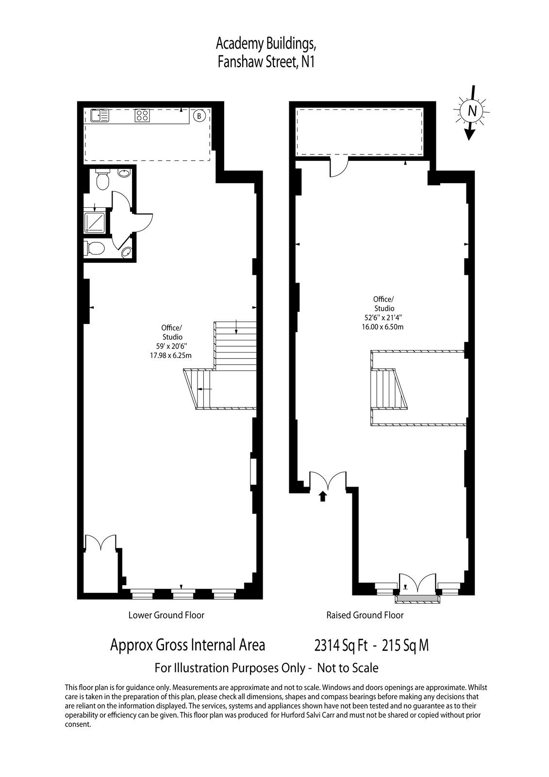 Fanshaw Street, London, N1 floorplan