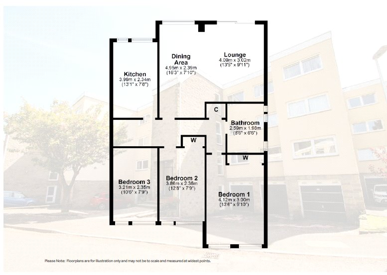 Floorplans for Netherblane, Blanefield, Glasgow, G63