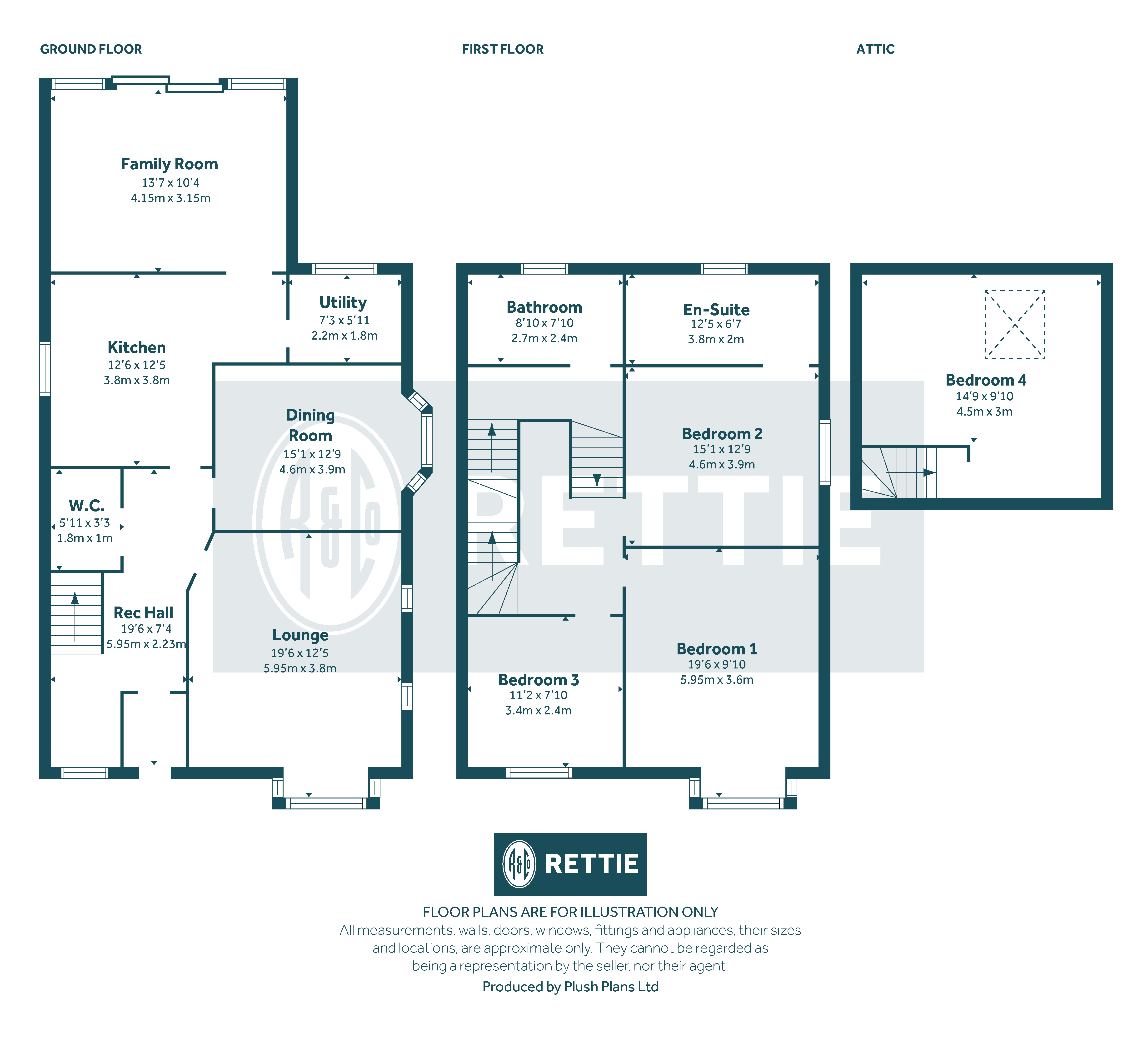 Floorplans for Mulberry Road, Newlands, Glasgow, G43