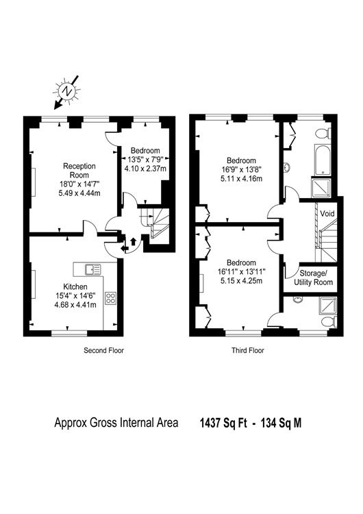 Bloomsbury Square, Bloomsbury, London, WC1A floorplan