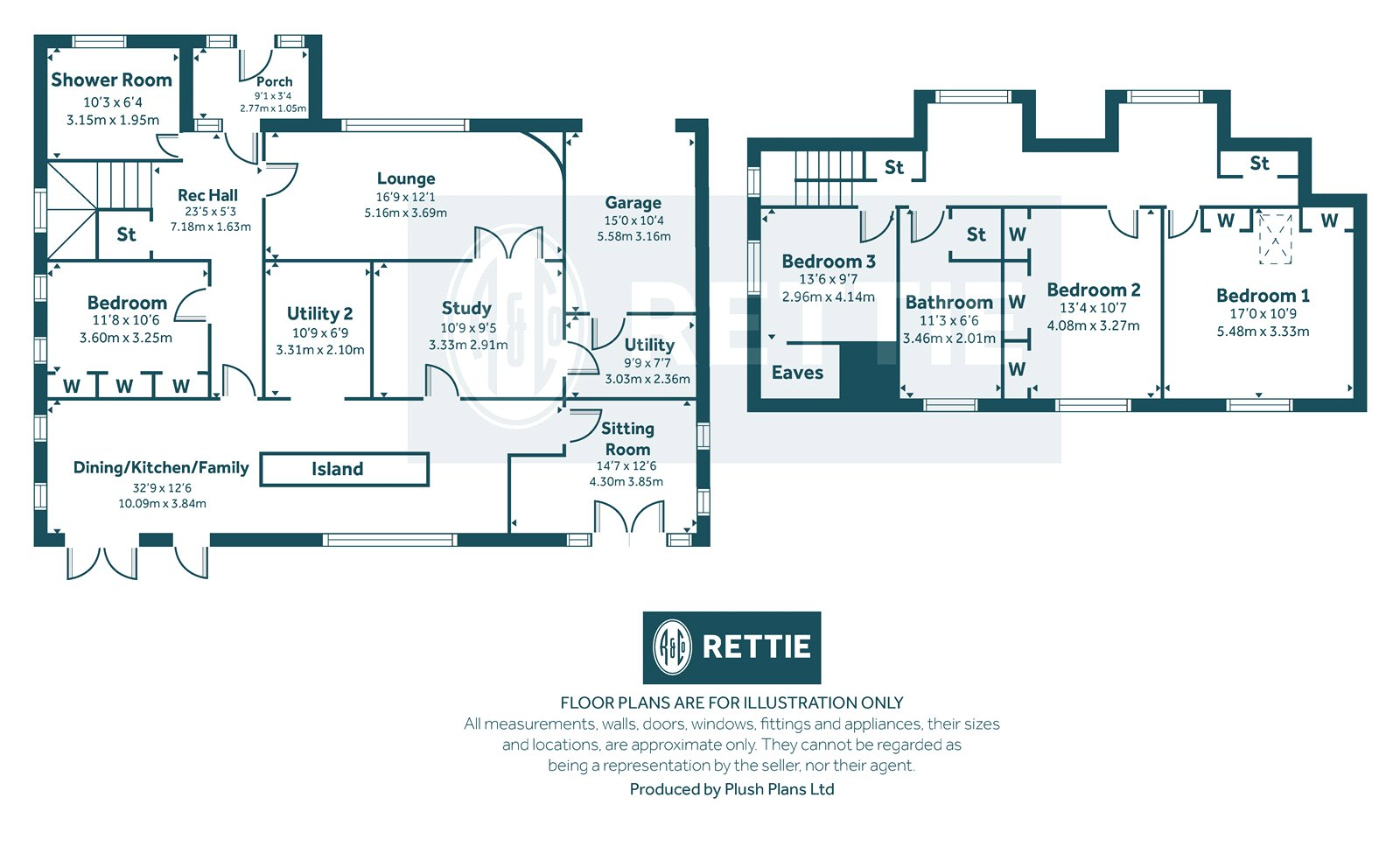 Floorplans for Mearns Road, Newton Mearns, Glasgow, G77