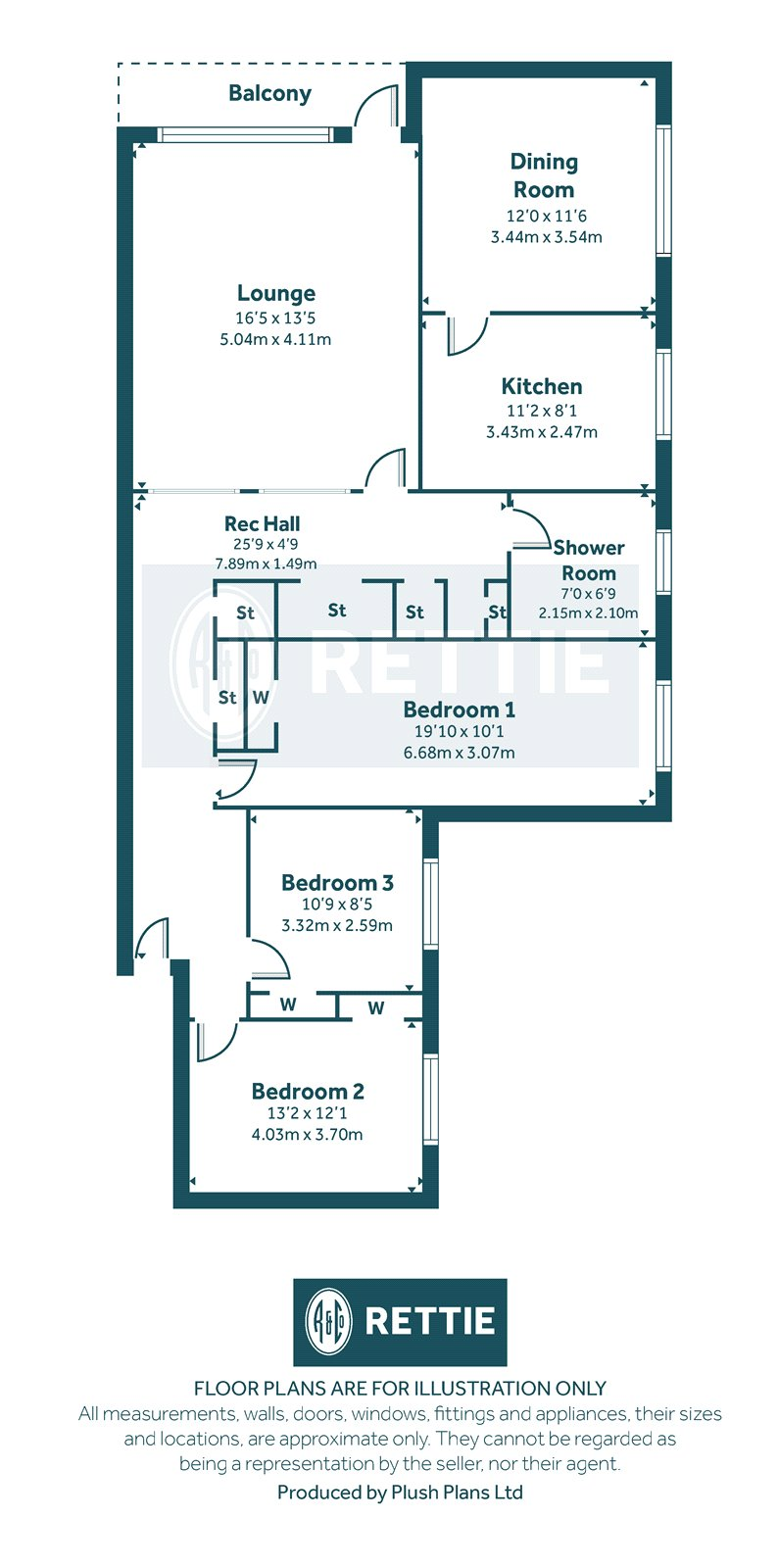 Floorplans for Castleton Drive, Newton Mearns, Glasgow, G77