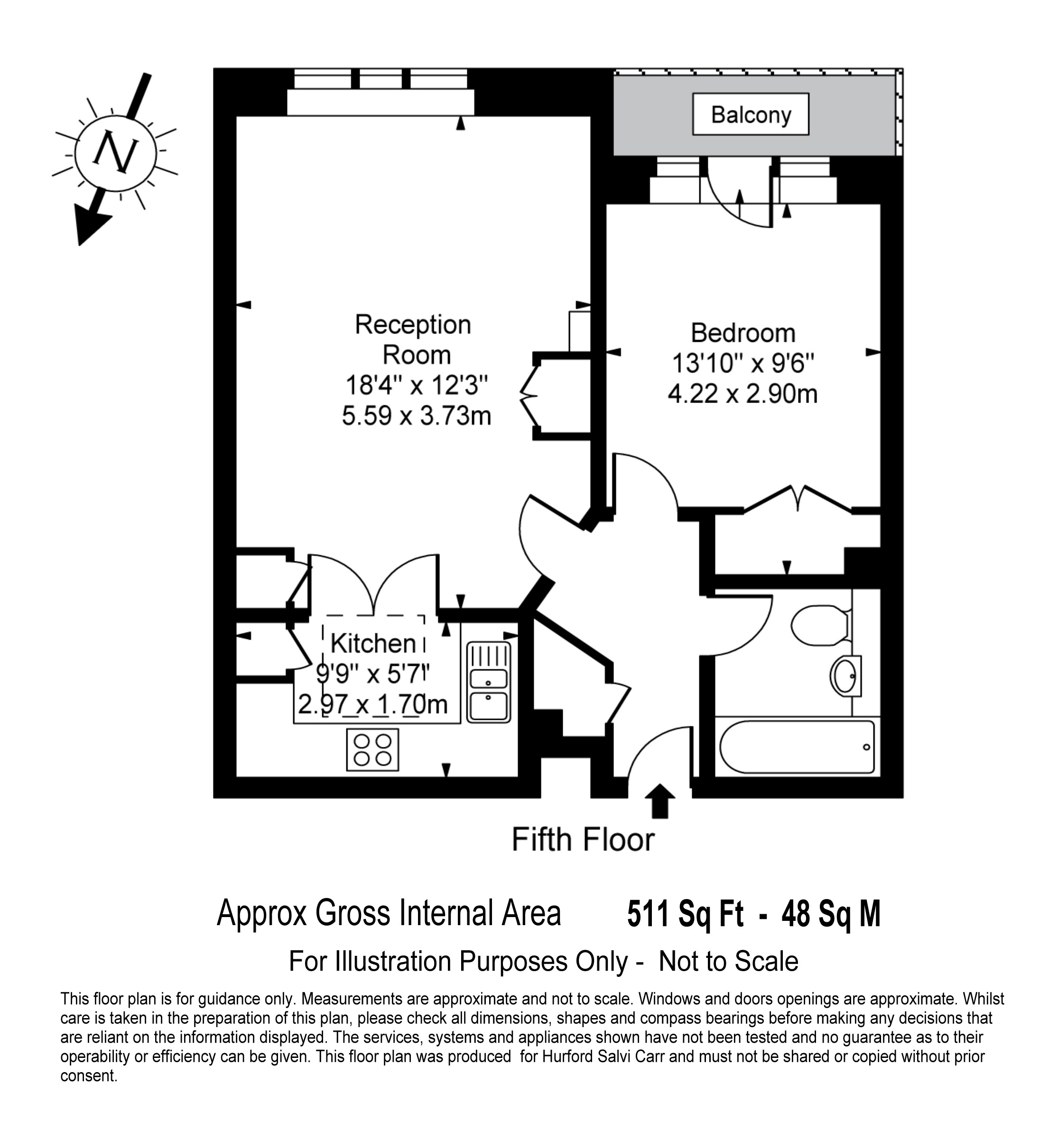 Little Britain, London, EC1A floorplan