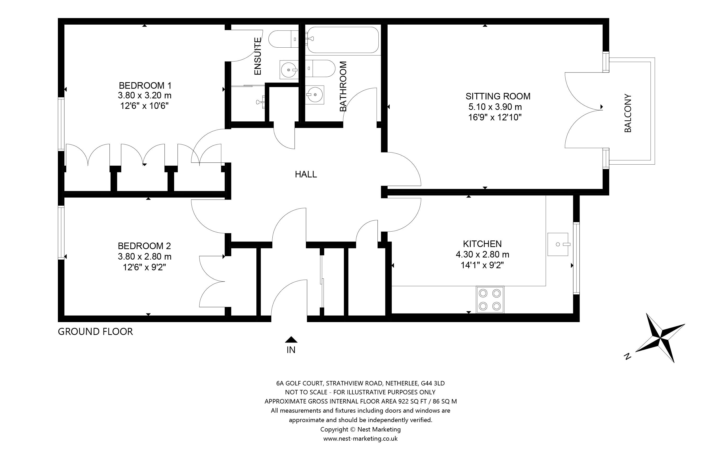 Floorplans for Strathview Park, Netherlee, Glasgow, G44