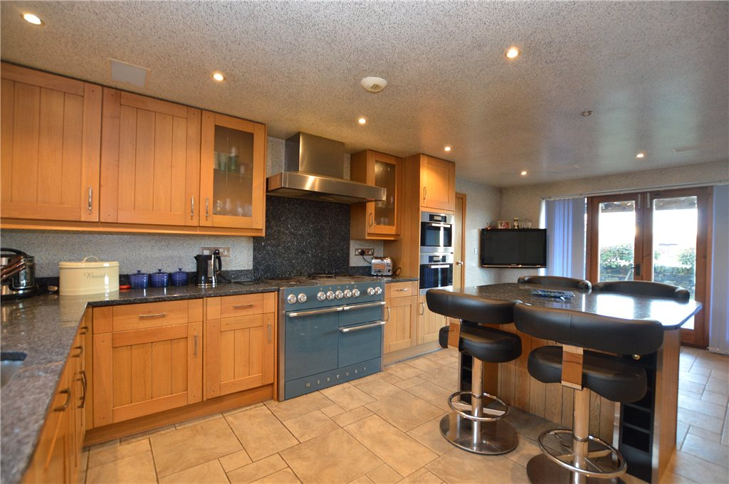 Property for sale in Morley, Kitchen area, modern with breakfast bar