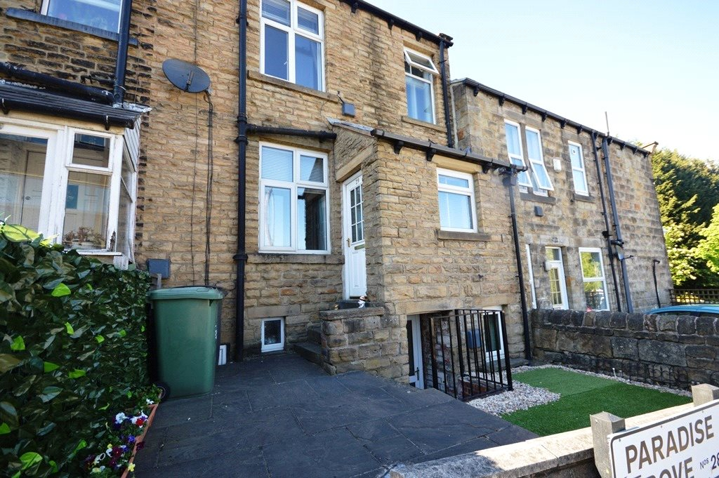 Property for sale in Horsforth, exterior home terraced house.