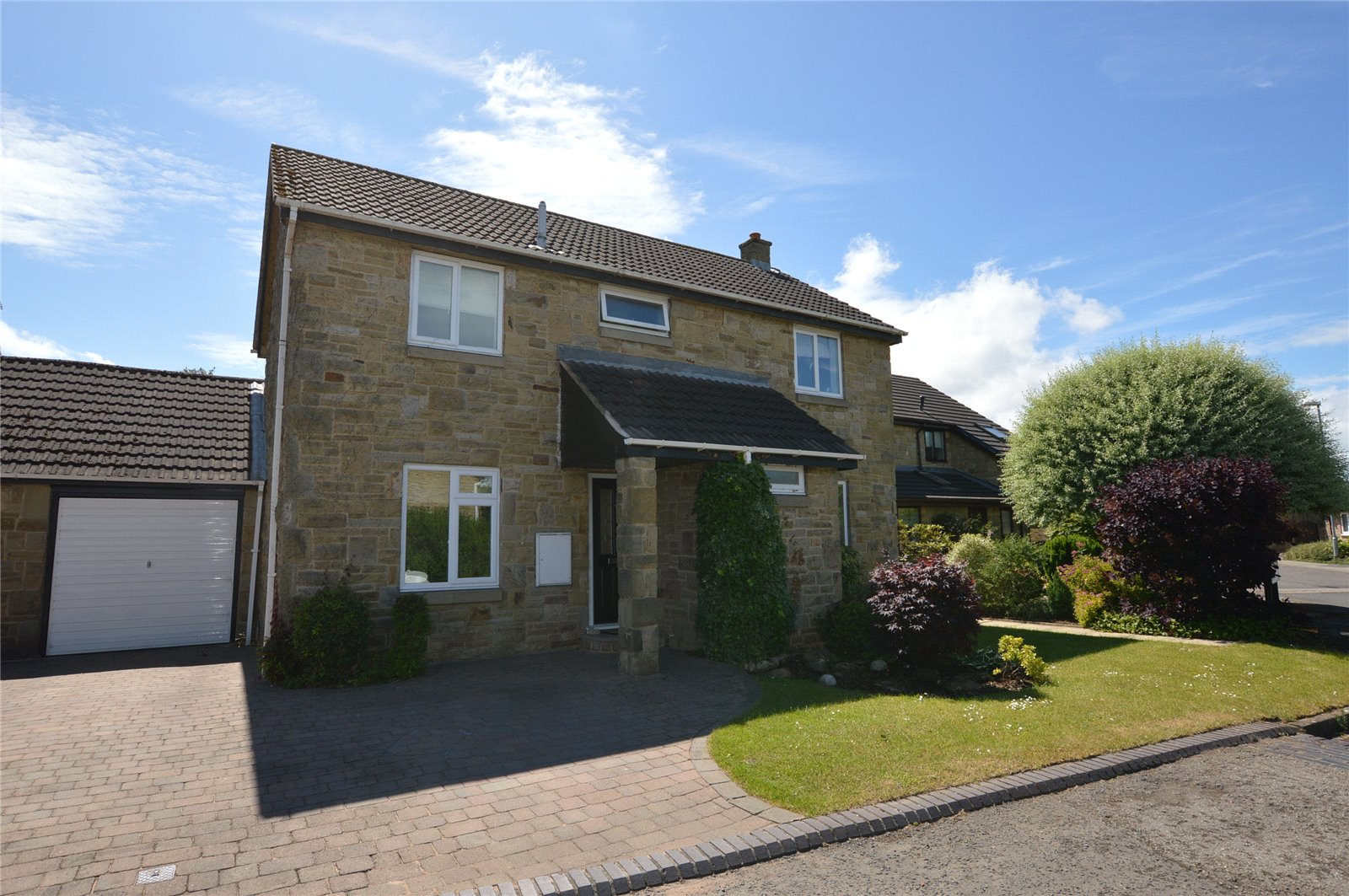 property for sale in Wetherby, exterior of family home