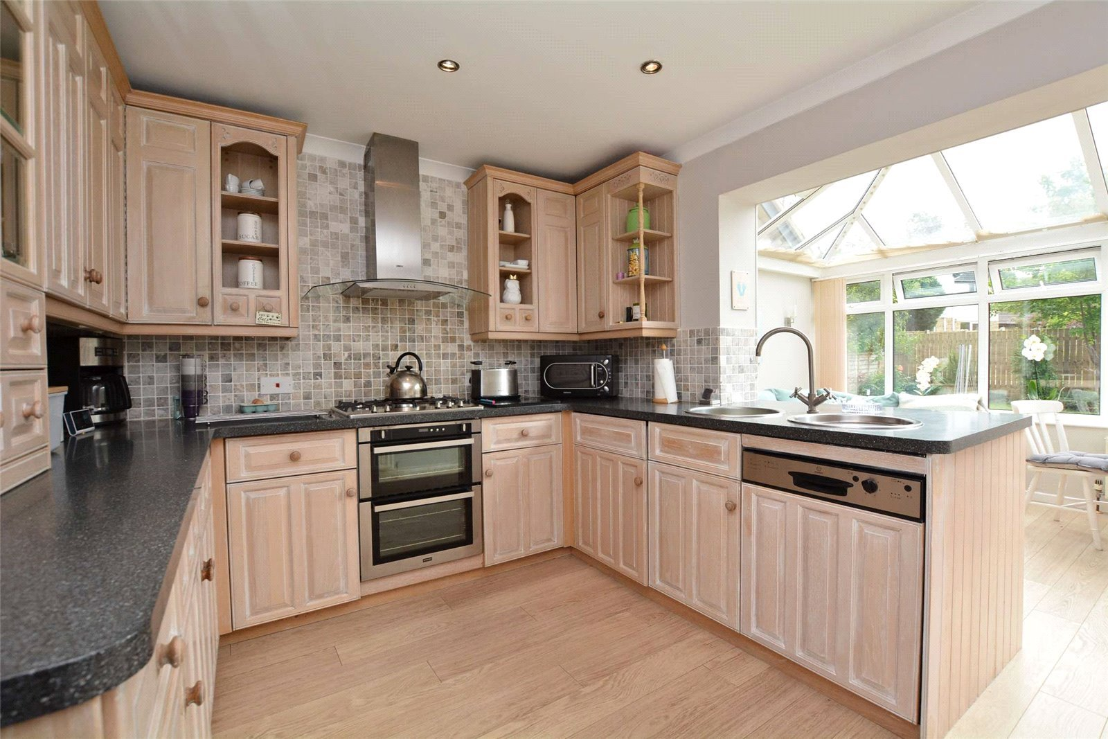 Property for sale in Wetherby, interior modern kitchen