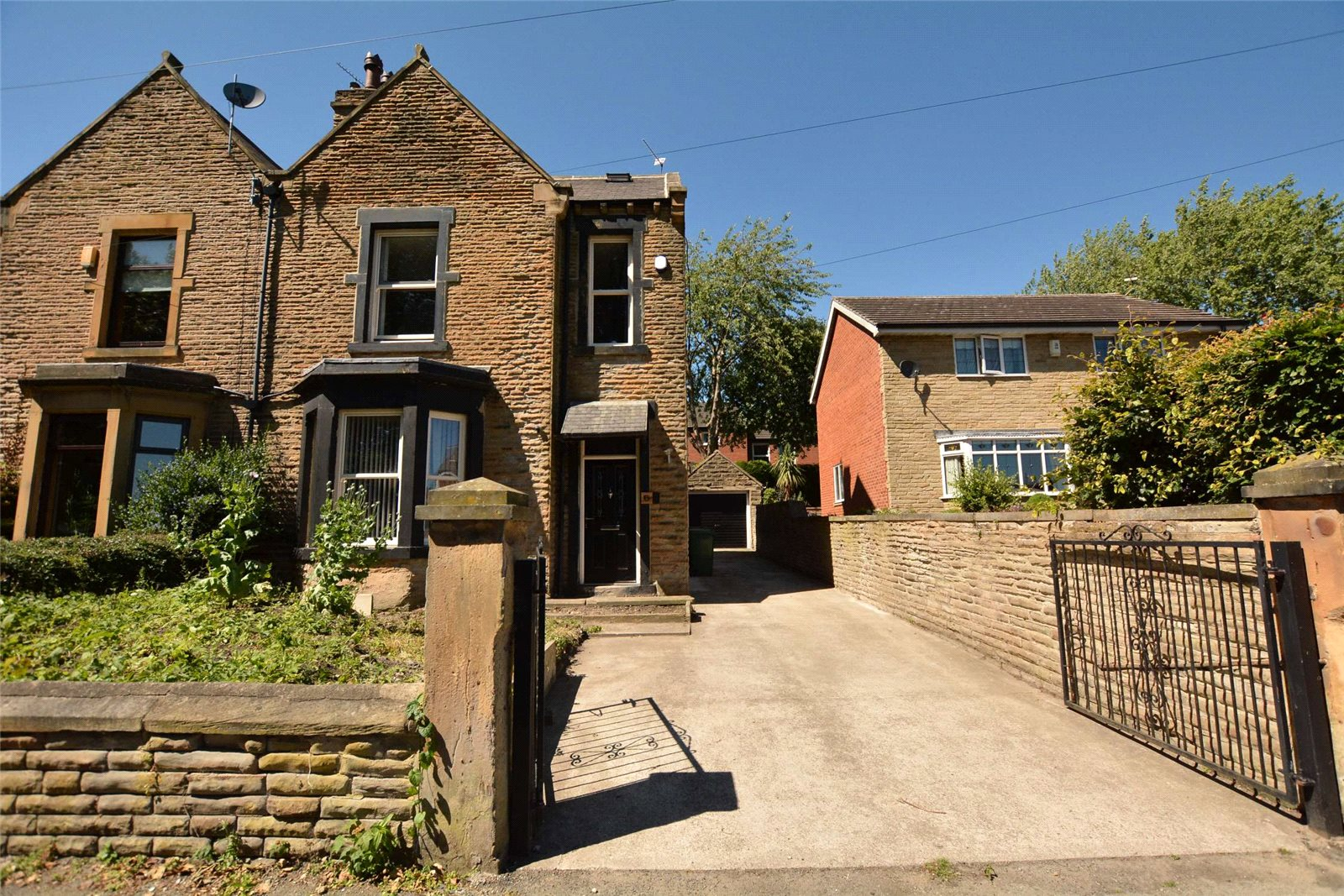 property for sale in Rothwell, exterior semi detached