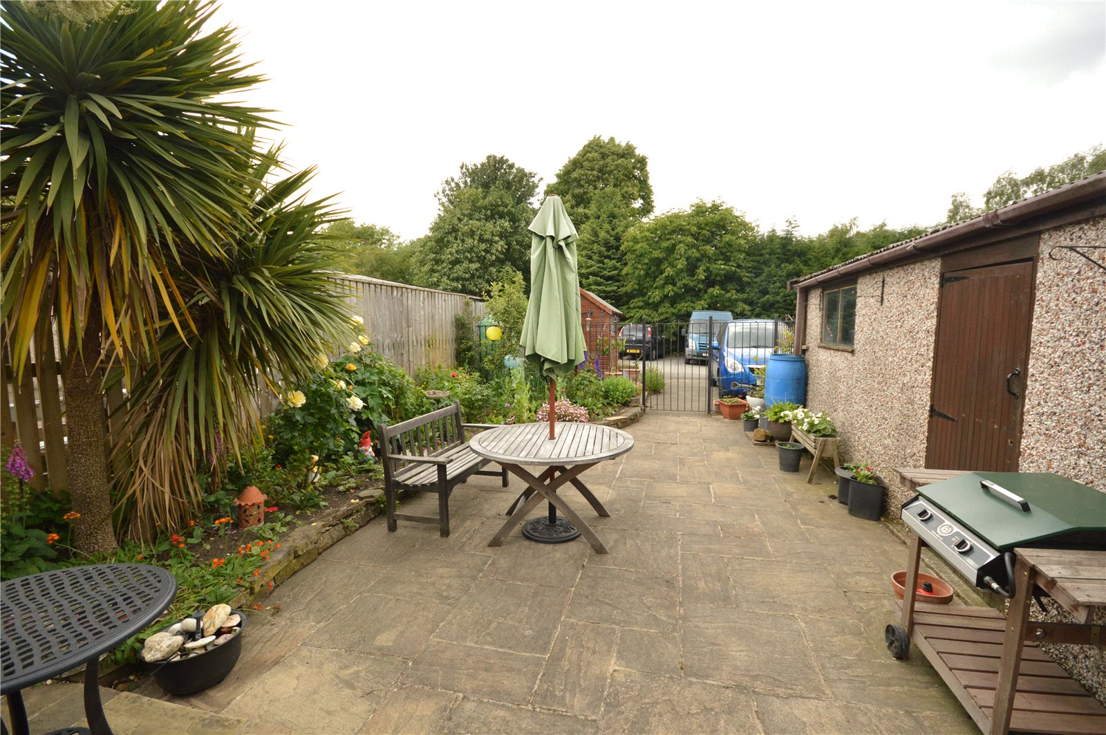 property for sale in Horsforth, back garden patio