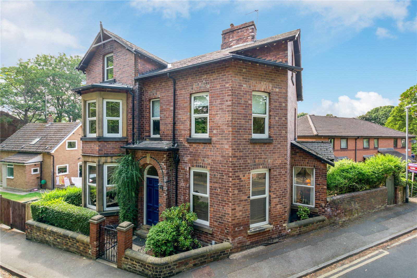 Property for sale in Wakefield, detached red brick home