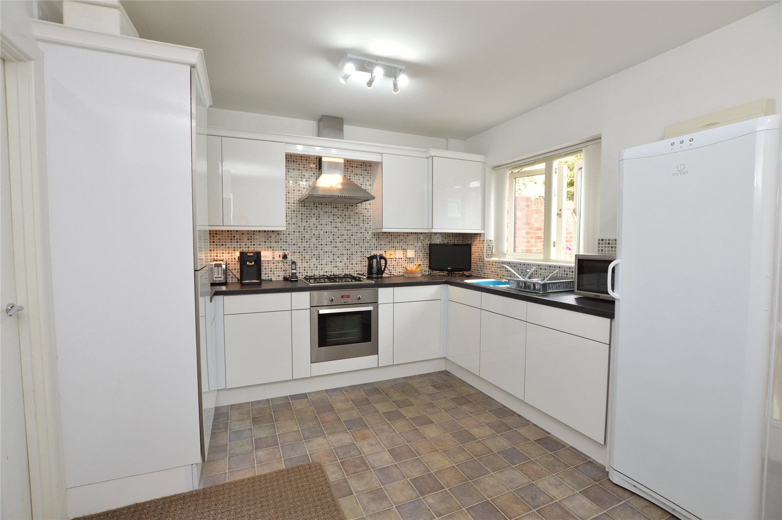Property for sale in Alllerton Bywater, modern fitted kitchen, white and neutral finish