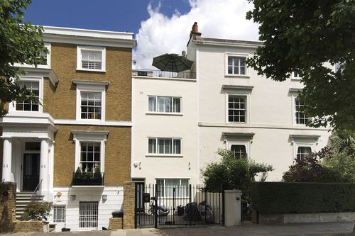 House - terraced to rent in St Johns Wood - HAMILTON TERRACE, NW8 9UJ