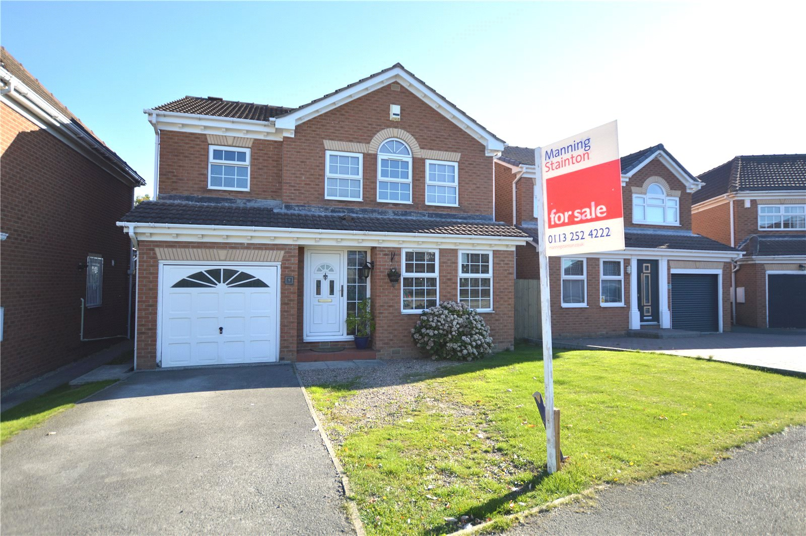 property for sale in Pudsey, exterior of detached home red brick