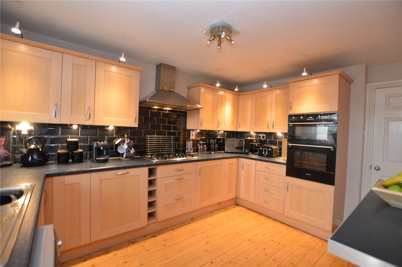 property for sale in Pudsey interior fitted modern kitchen