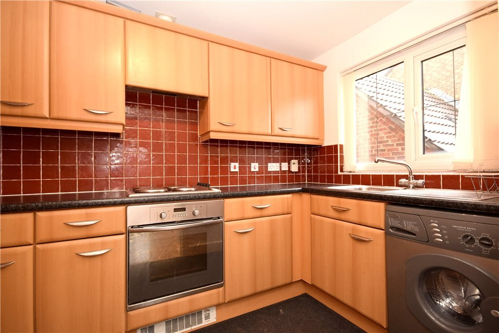 Property for sale in Pudsey, interior fitted tiled kitchen