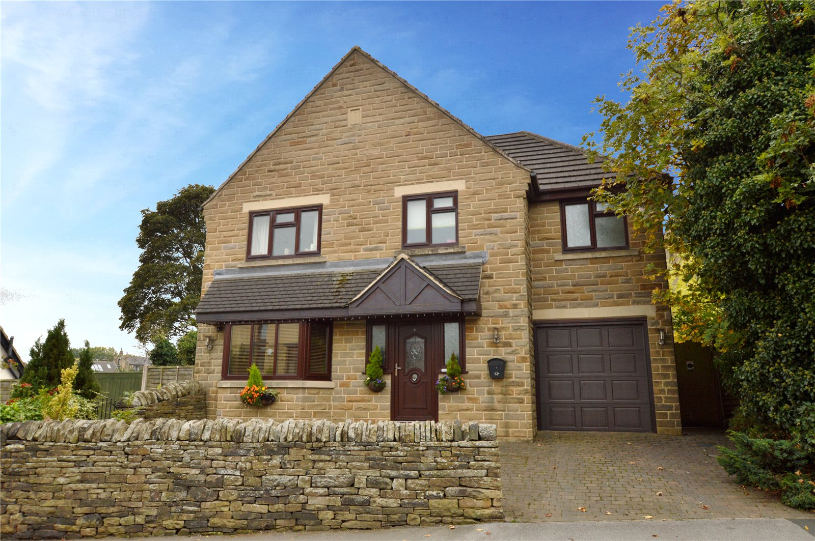property for sale in Pudsey, exterior of home sandstone