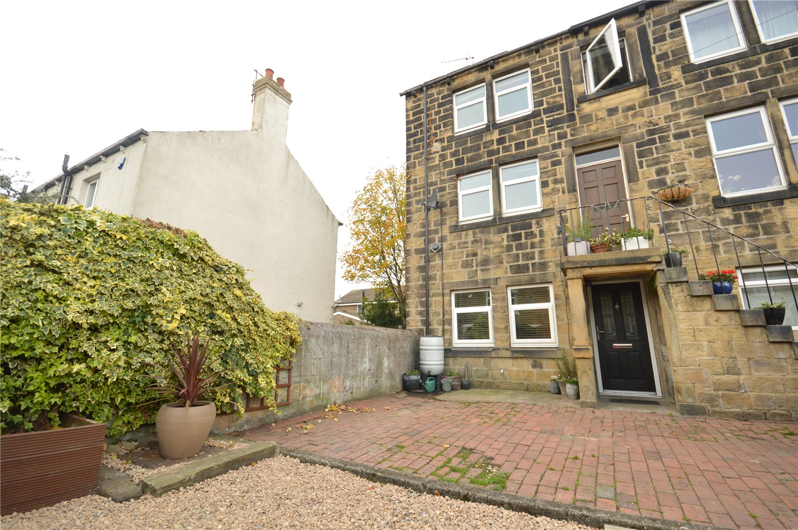Property for sale in Calverley, exterior of semi detached home
