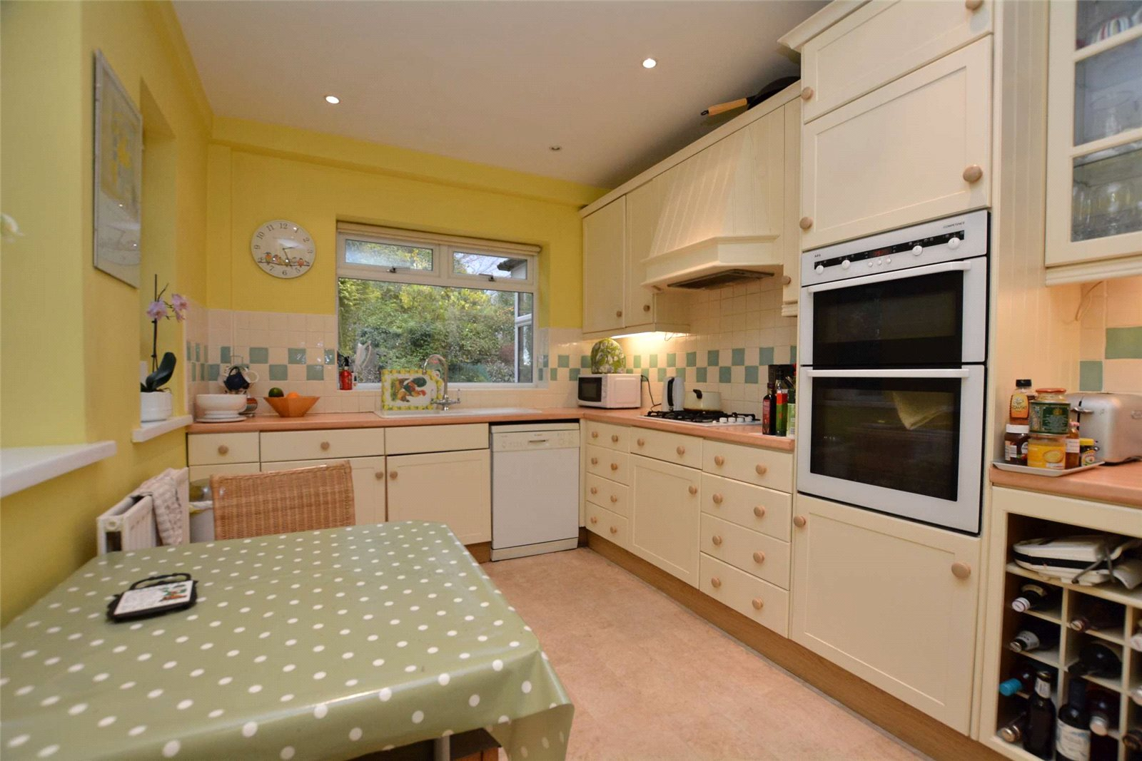 Property for sale in Headingley, interior modern fitted farmhouse kitchen
