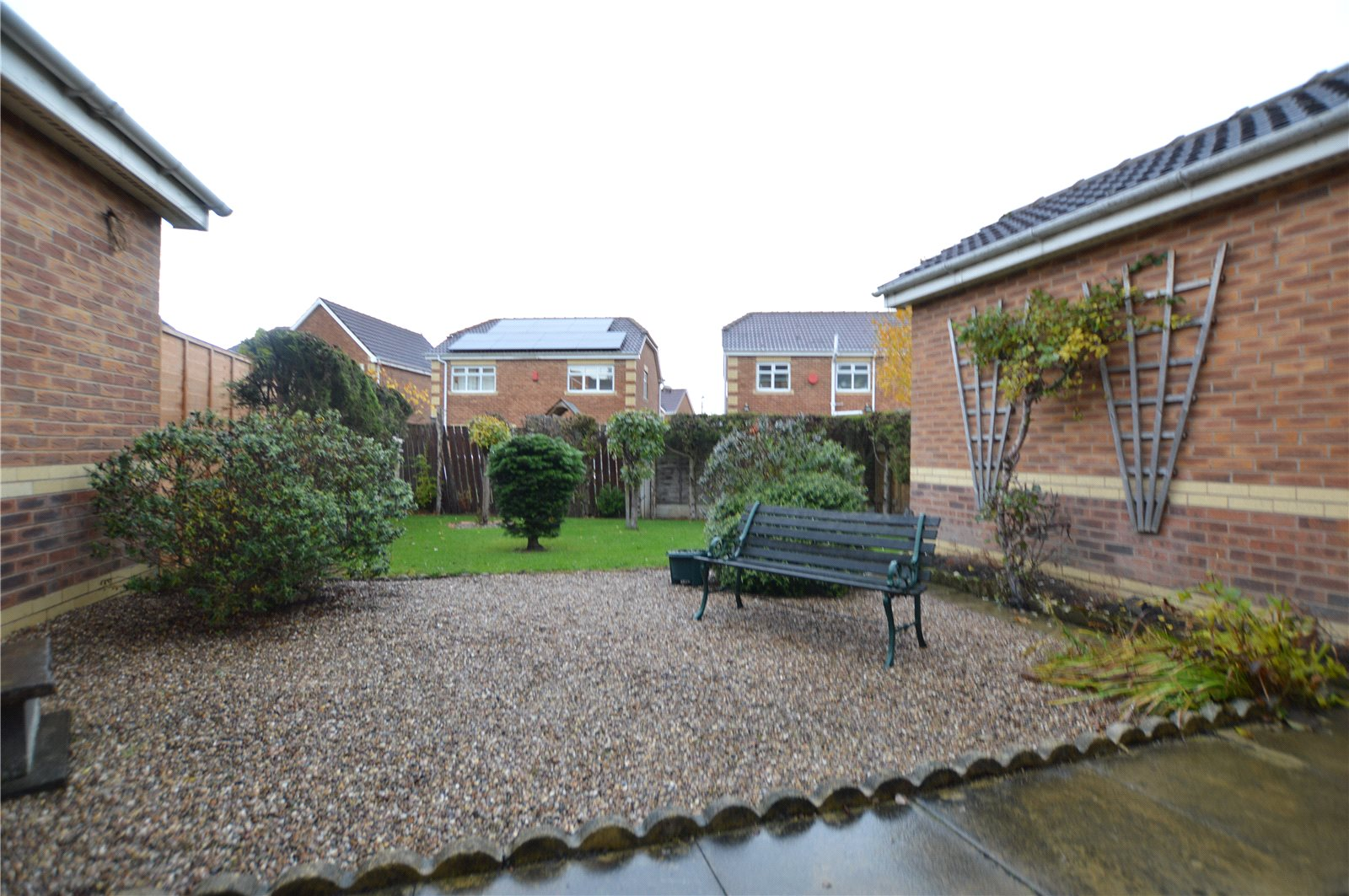 property for sale in Morley, exterior gravel and lawned garden