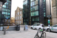 View of Simpson Loan, Quartermile, EH3