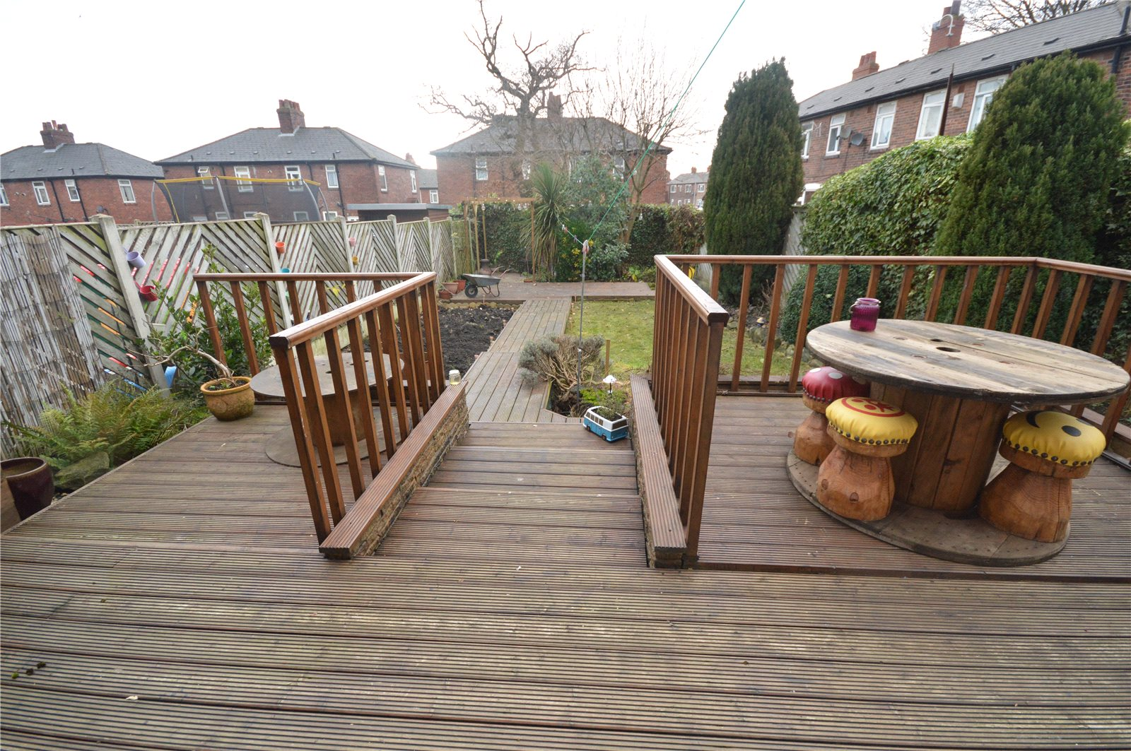 property for sale in Horsforth, exterior decking