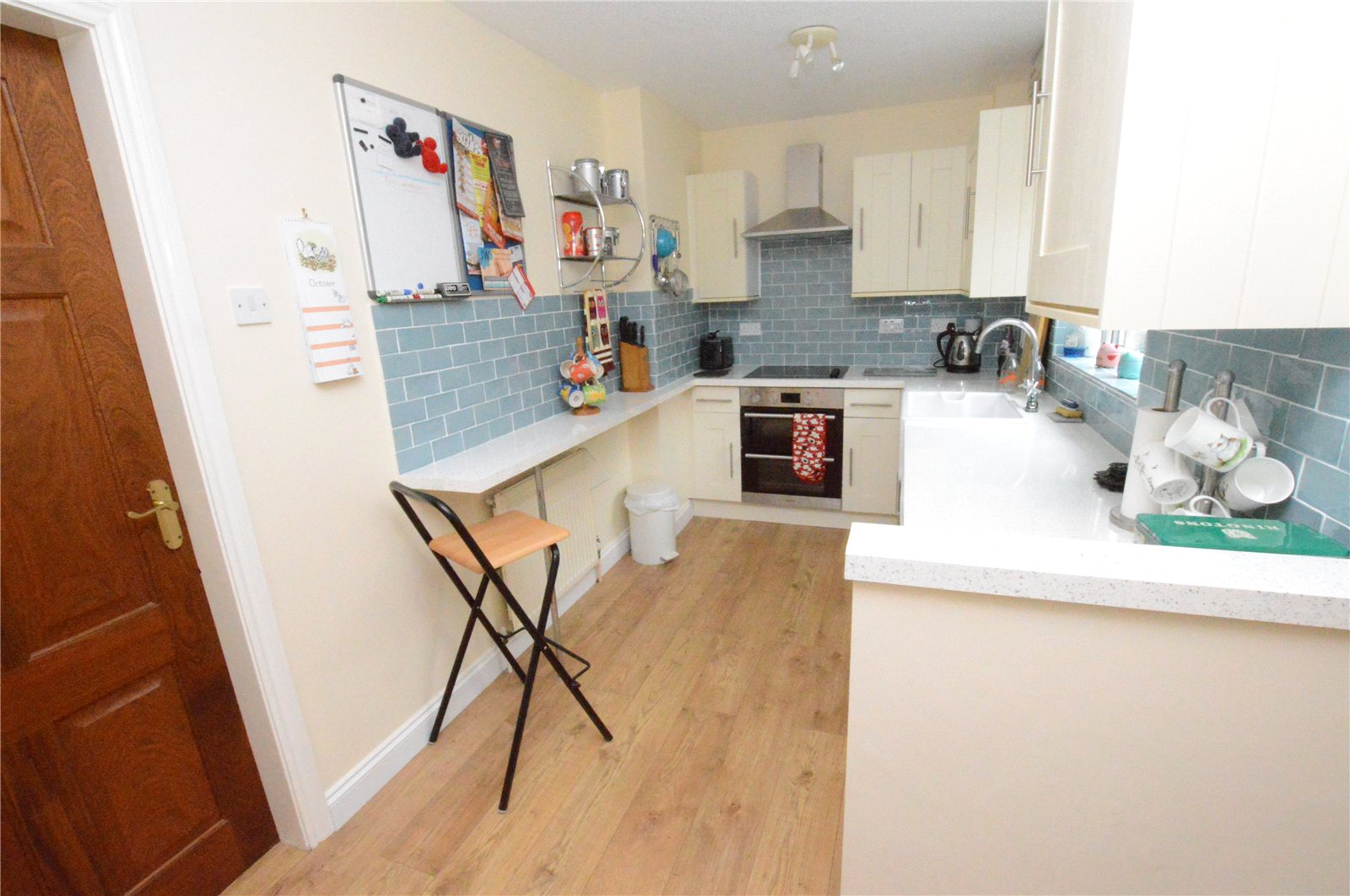 property for sale in Crossgates, Interior kitchen of home, gallery kitchen