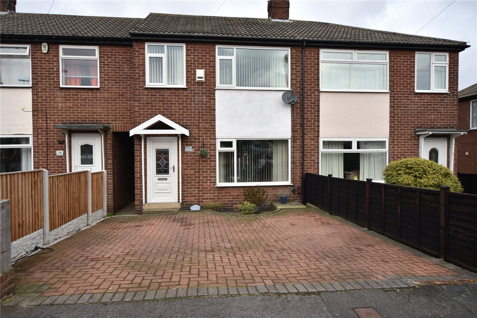 property for sale in Beeston, exterior terraced home