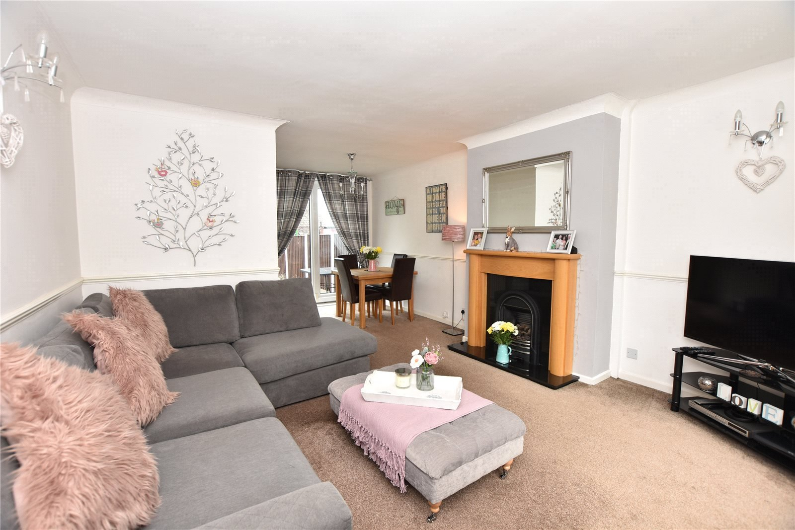 property for sale in Beeston, Interior reception room, beautiful space
