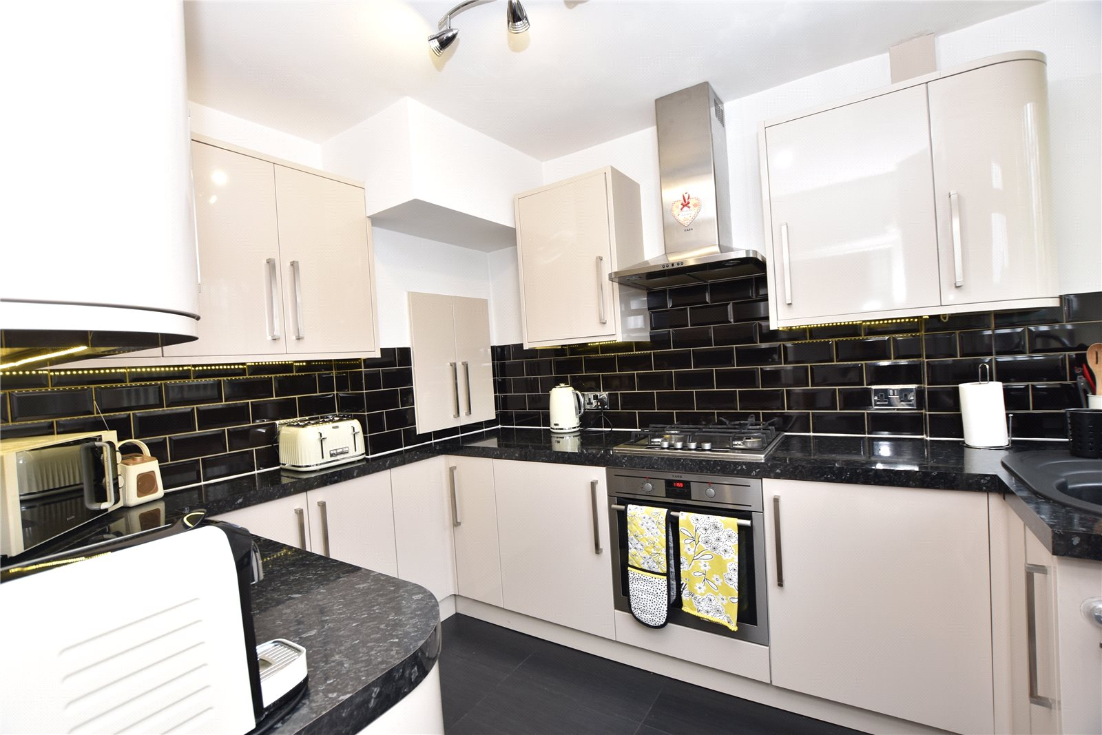 property for sale in Beeston, interior modern fitted kitchen