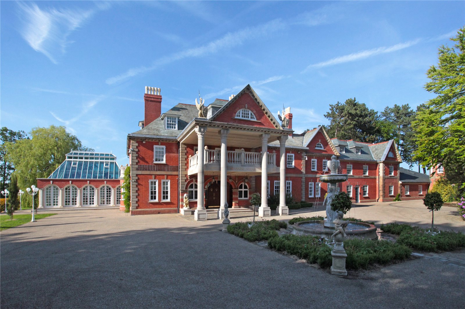 One of cheshires finest country houses approximately 20000 sq ft with magnificent leisure suite and 5588 sq ft luxury garaging hangar facility