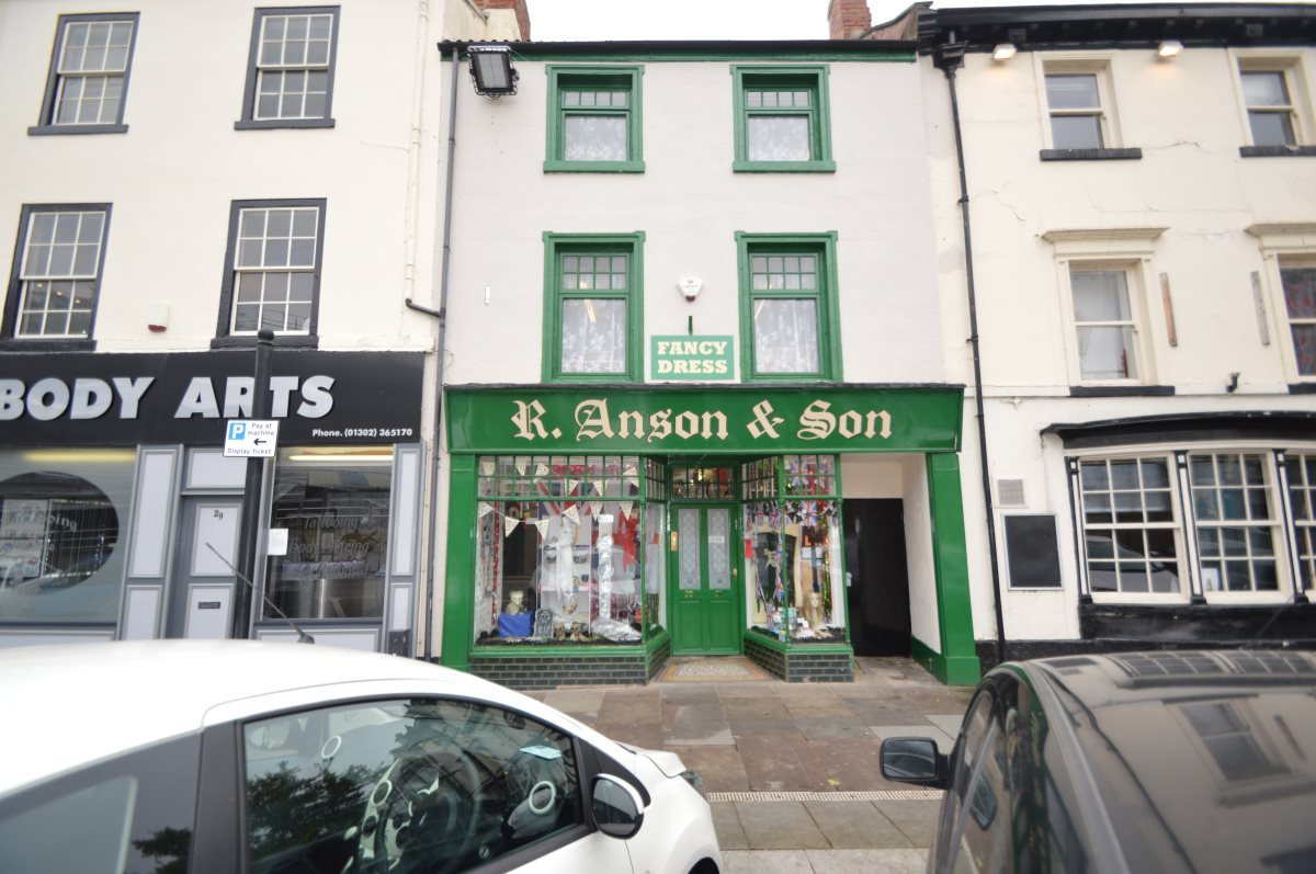 Property For Sale In Market Place Doncaster 130 000