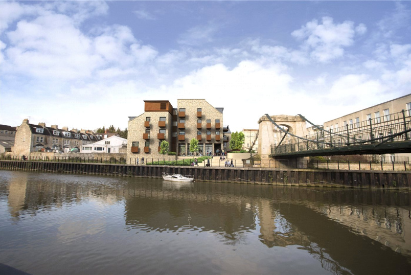 Flat/apartment for sale in Bath - Riverview Court, Victoria Bridge Road, BA1